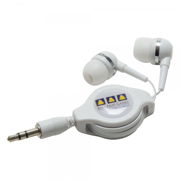 Premium Retractable Earphones