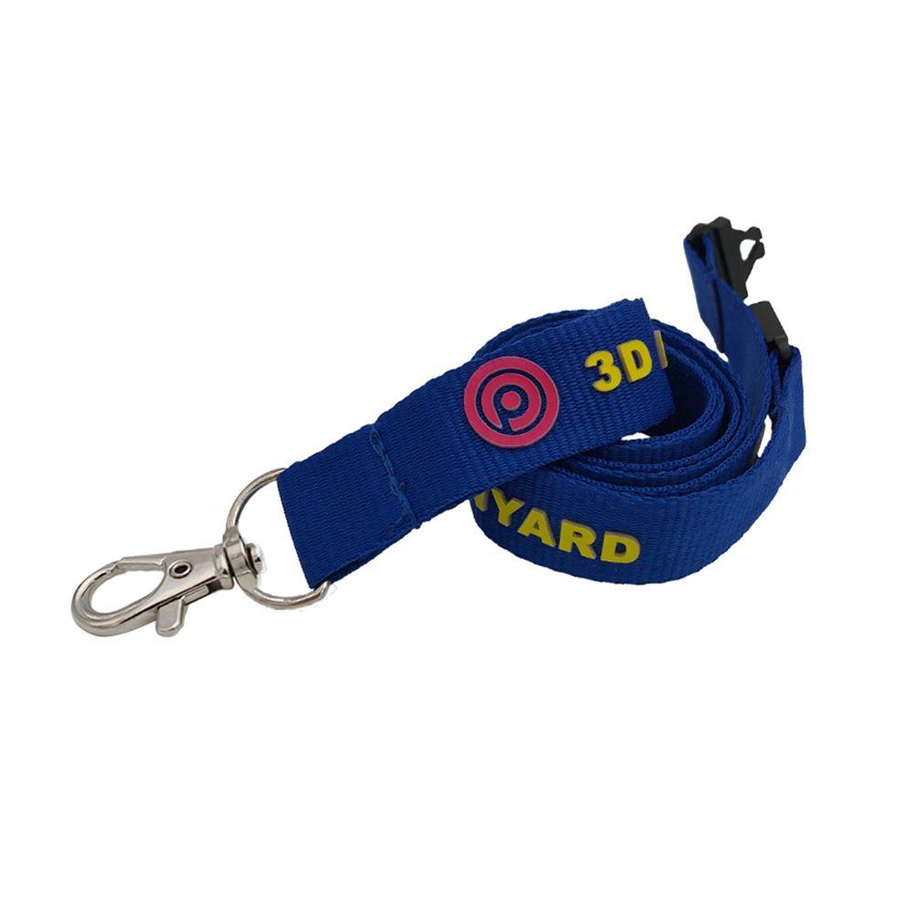 15mm 3D Logo Lanyard