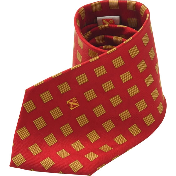 Printed Polyester Tie (Screen Print)