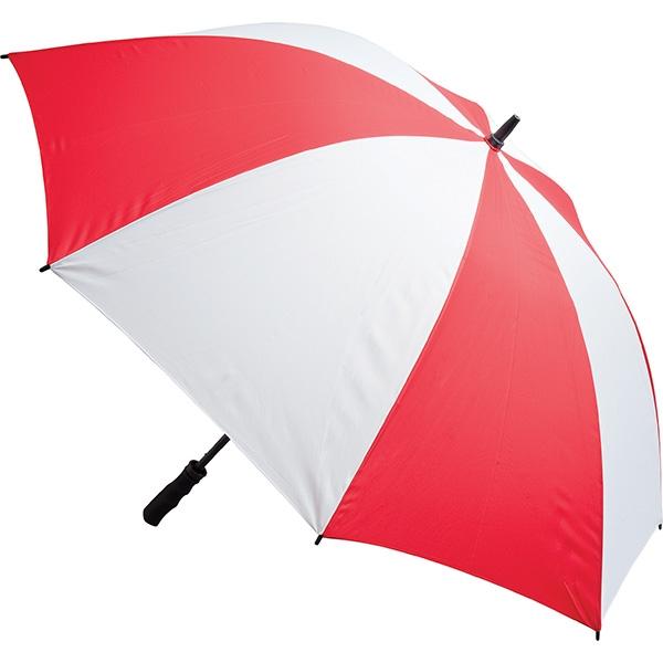 Fibreglass Storm Umbrella (Red & White)
