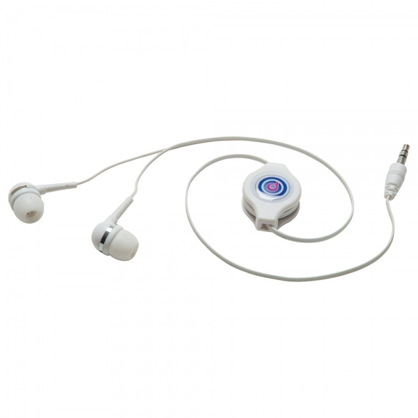 Promotional Retractable Earphones