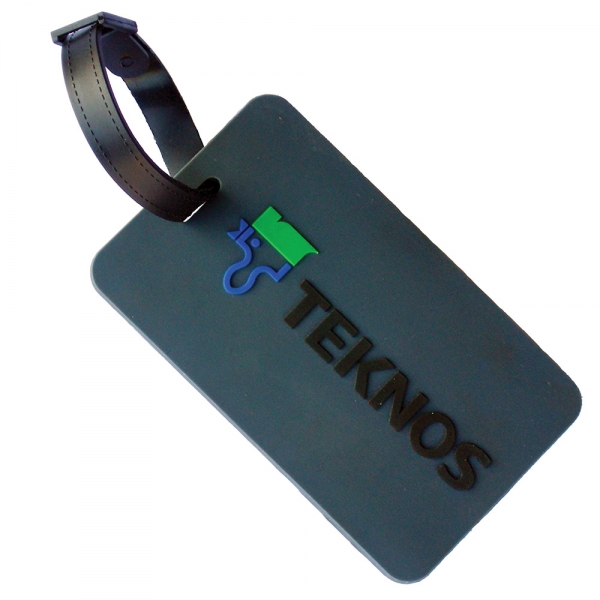 Soft PVC Luggage Tag (Small: Soft Frame)