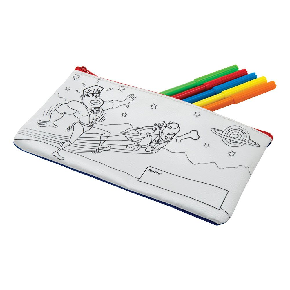 Colour-In-Pencil Case