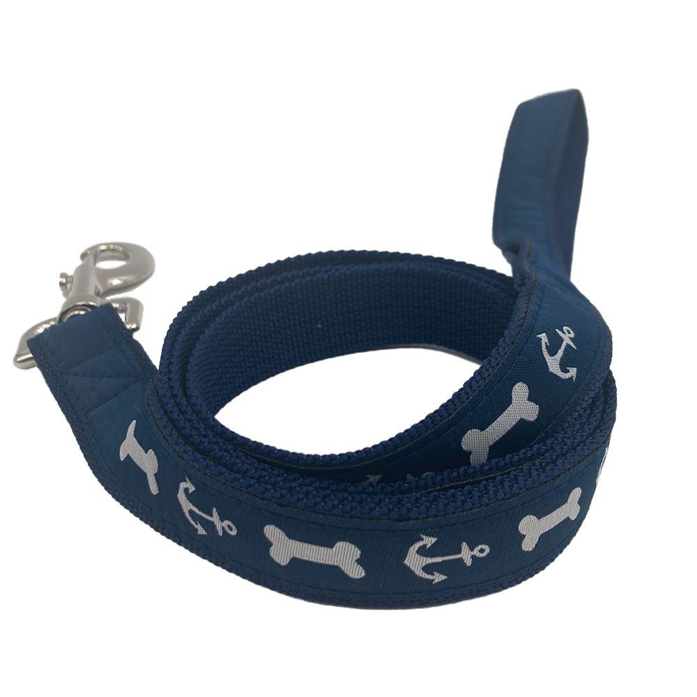 Woven Applique Dog Lead