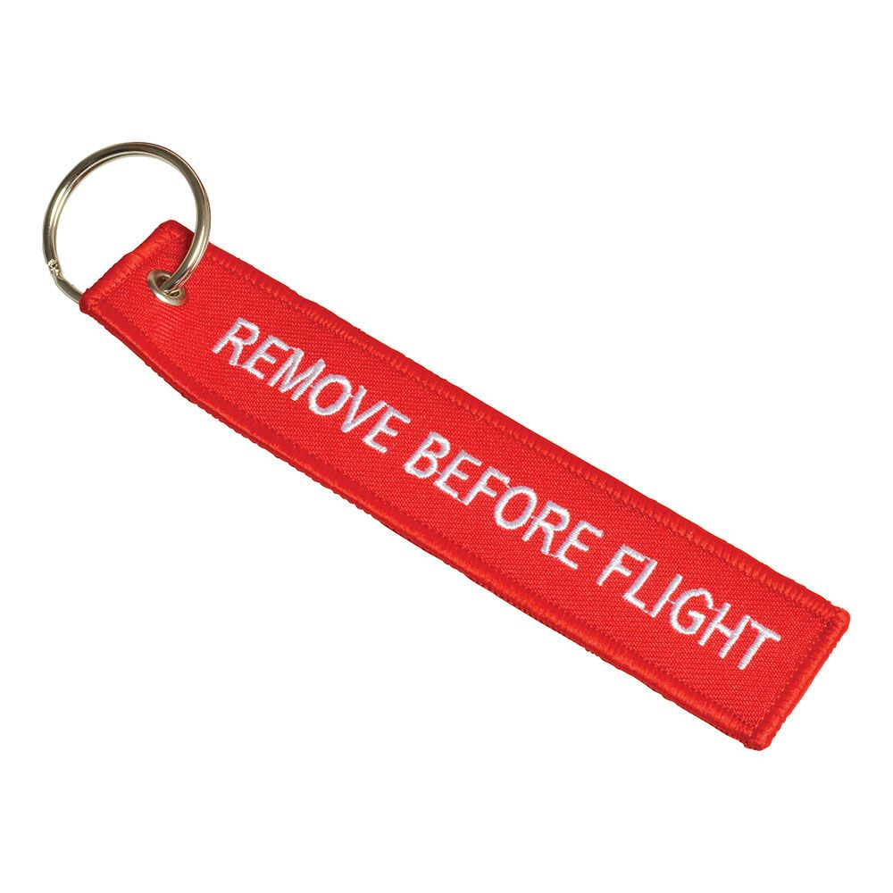 Flight Tag (Embroidered)