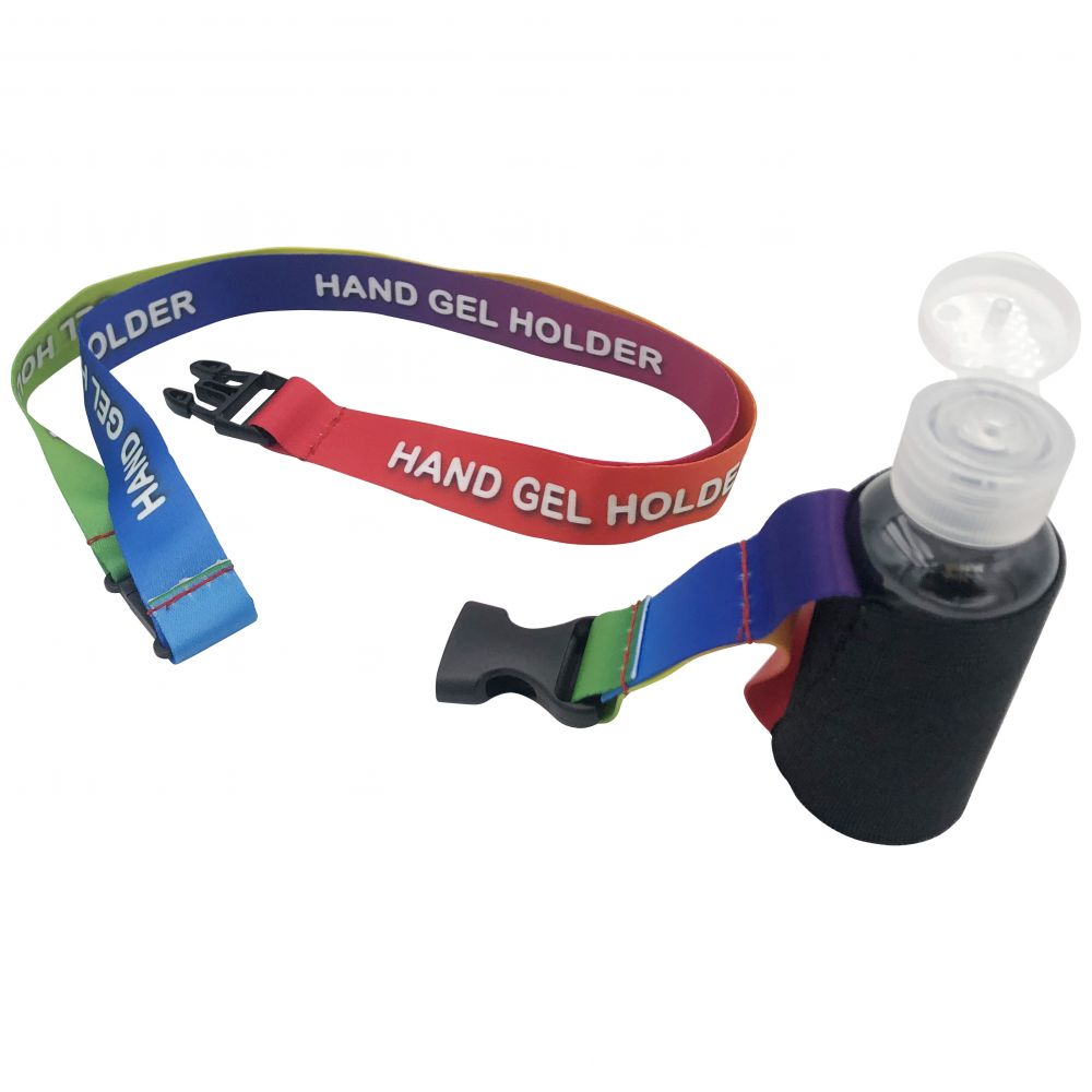 Lanyard Hand Gel Holder