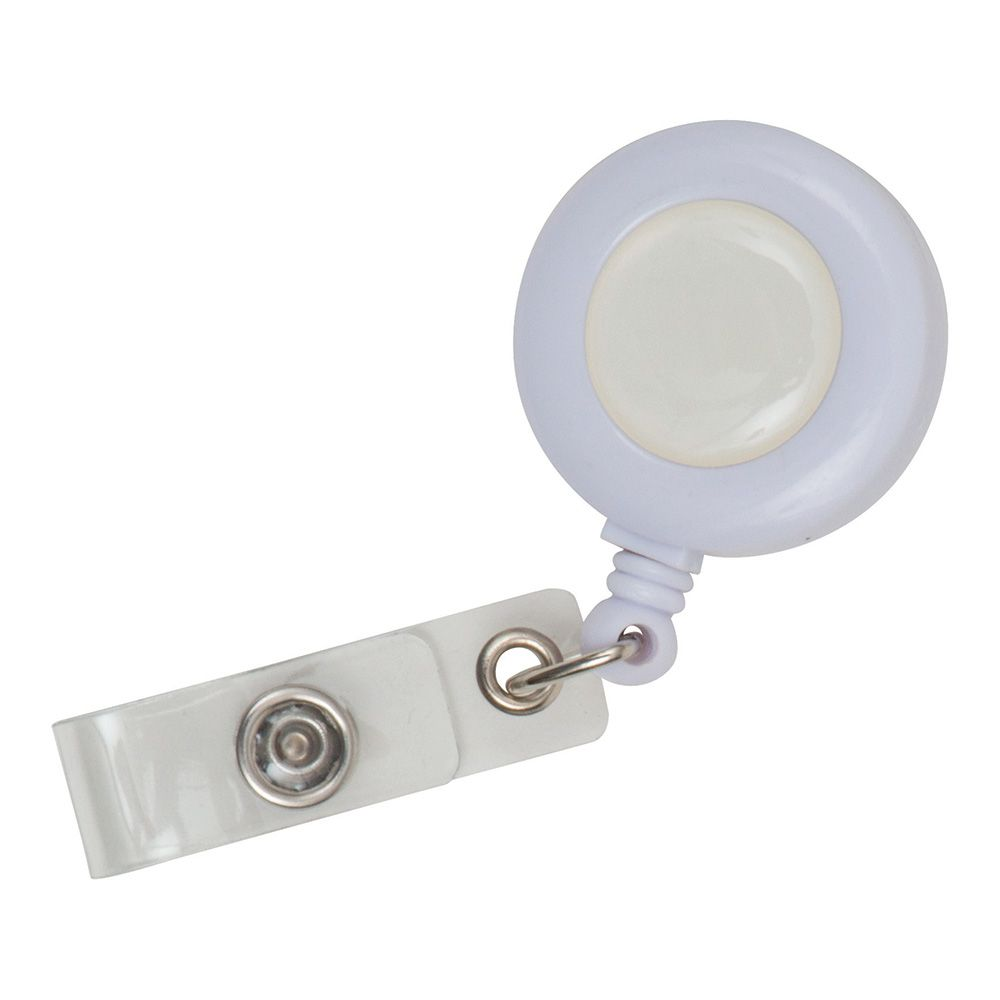 Plastic Pull Reels (UK Stock: White)