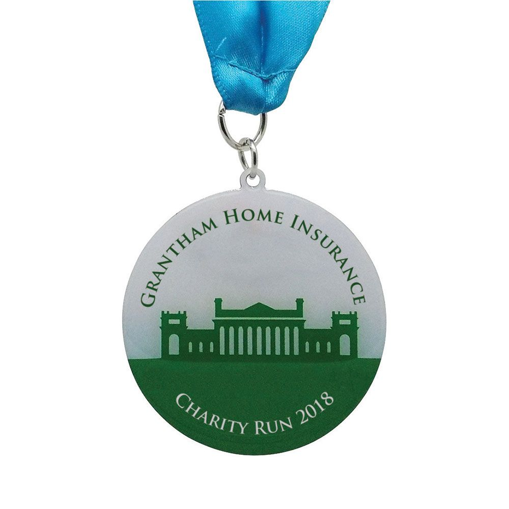 35mm Medal Printed Full Colour (0.7mm)