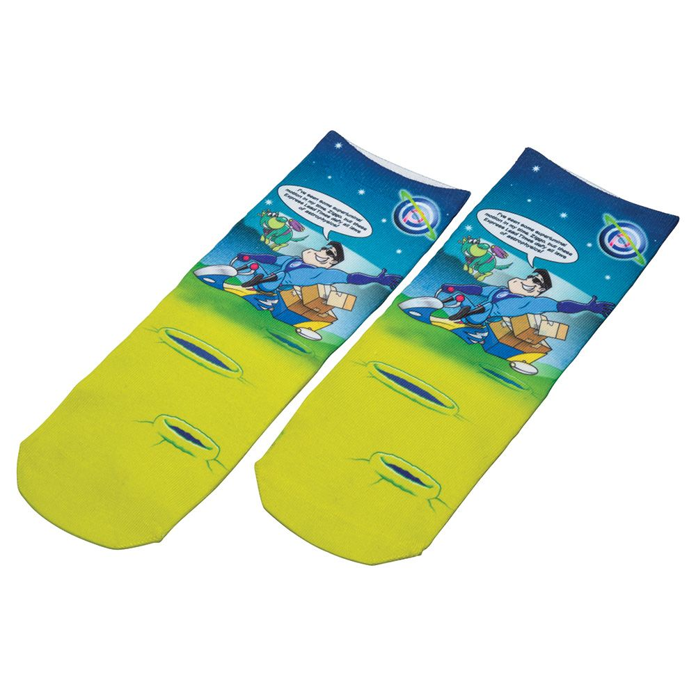 Full Colour Xpress Short Socks (Child Size)