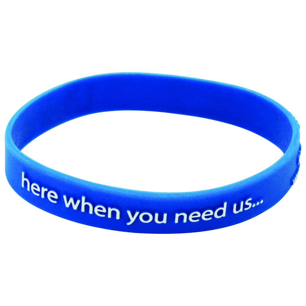 Silicone Wristband (Child: Raised Profile Design) - SW(RAI)-C