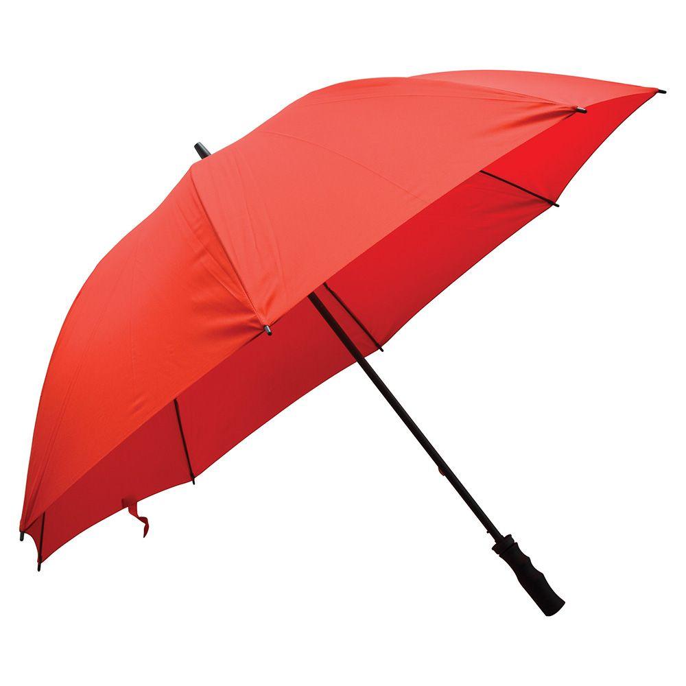 Fibreglass Storm Umbrella (All Red)