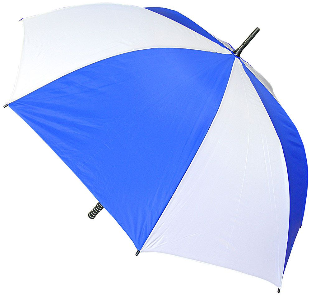 Automatic Walking Umbrella - Royal & White