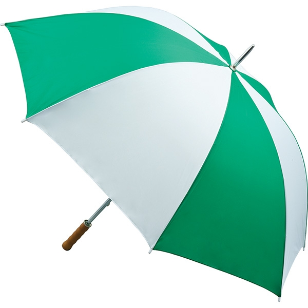 Quantum Golf Umbrella - Emerald and White