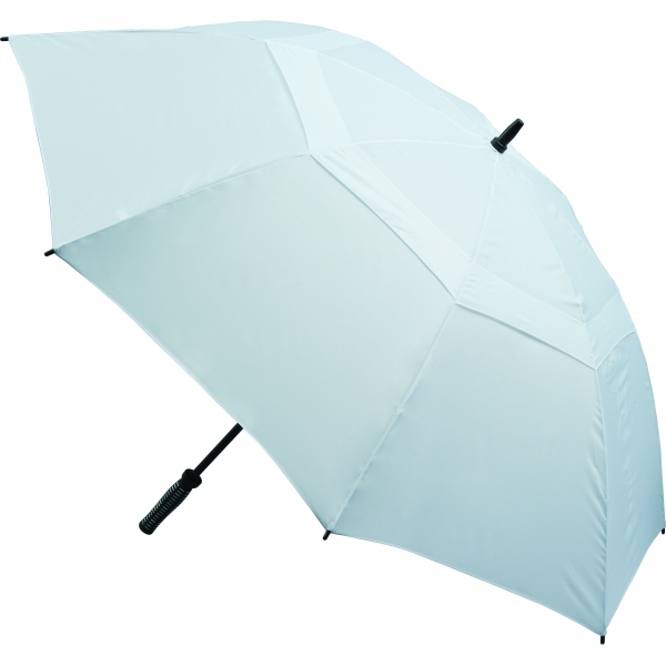 Vented Golf Umbrella - White