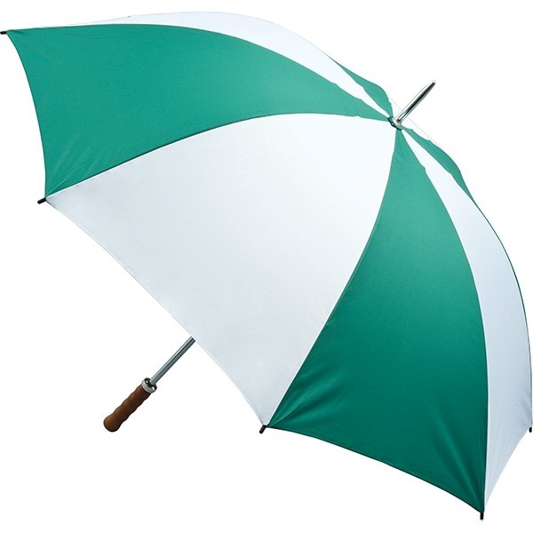 Quantum Golf Umbrella - Green and White