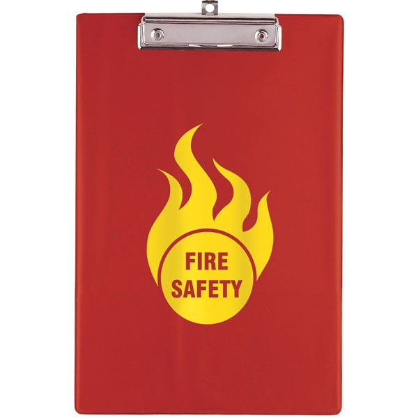 A4 Clipboard - Red