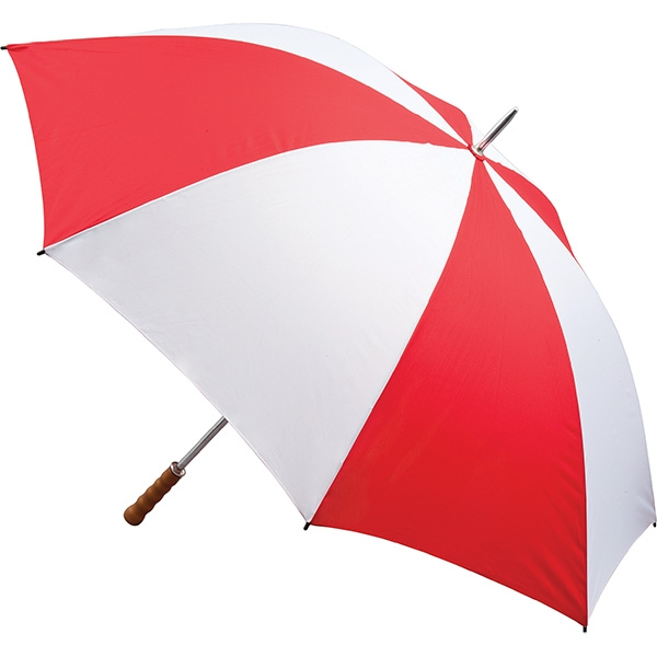 Quantum Golf Umbrella  Red   White