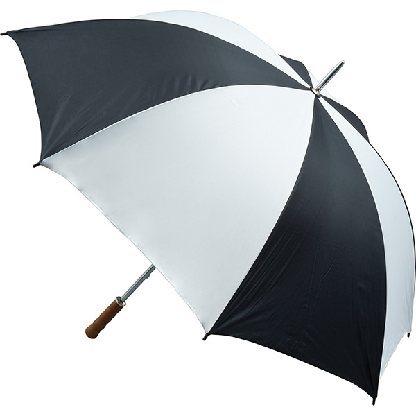 Quantum Golf Umbrella - Black and White