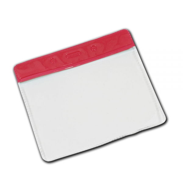 Credit Card Sized Lanyard Wallet- Colour Header
