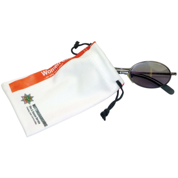 Microfibre Sunglasses Pouch