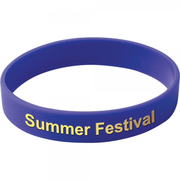 Silicone Wristband (Printed design) - Adult