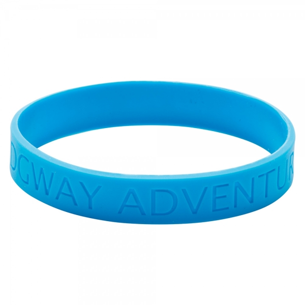 Silicone Wristband  Recessed design  - Adult