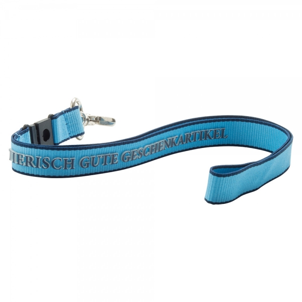 3D Logo Lanyards -15mm