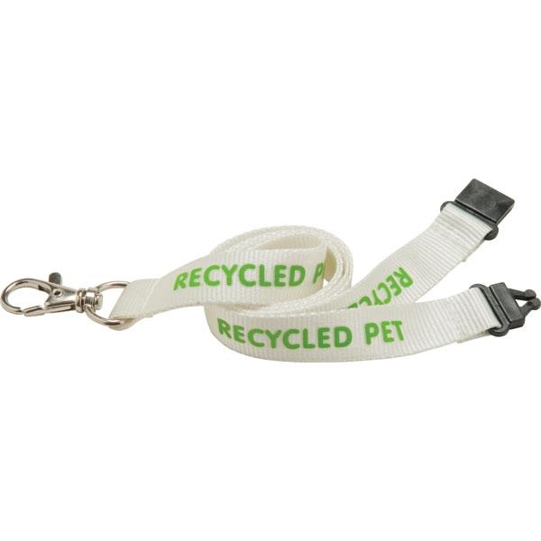 20mm Recycled PET Lanyard