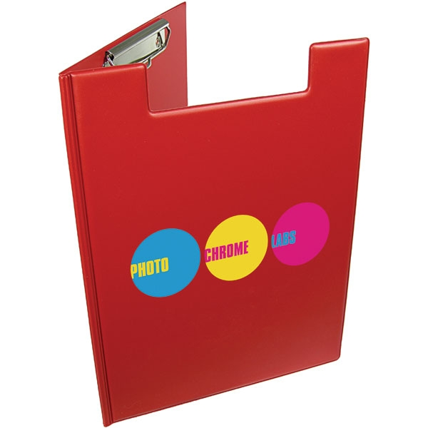 A4 Folder Clipboard  Red