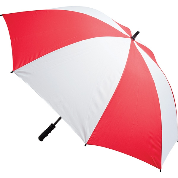 Fibreglass Storm Umbrella - Red and White
