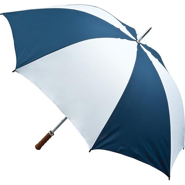 Quantum Golf Umbrella - Navy and White