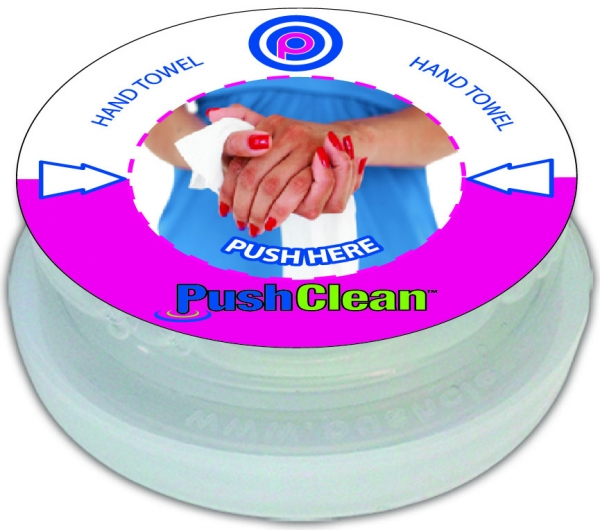 PushClean Wipes  Factory Supplied