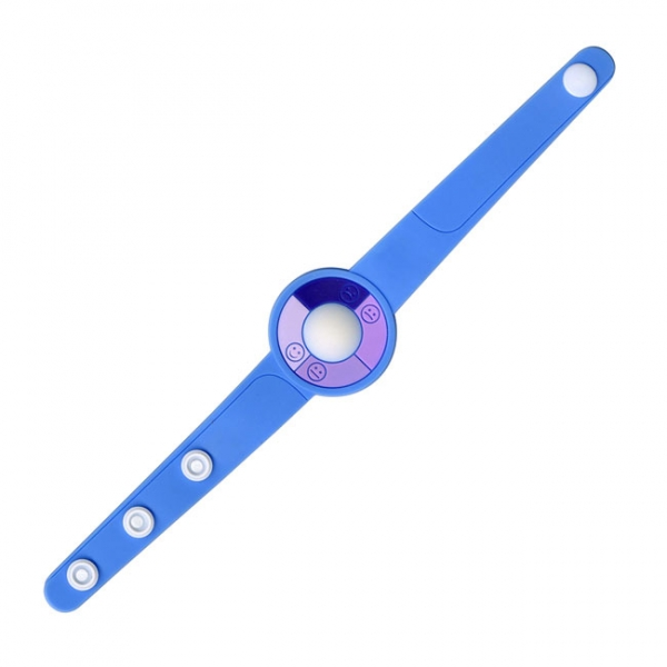 Soft PVC UV Indicator Watch