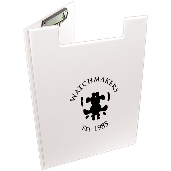 A4 Folder Clipboard - White