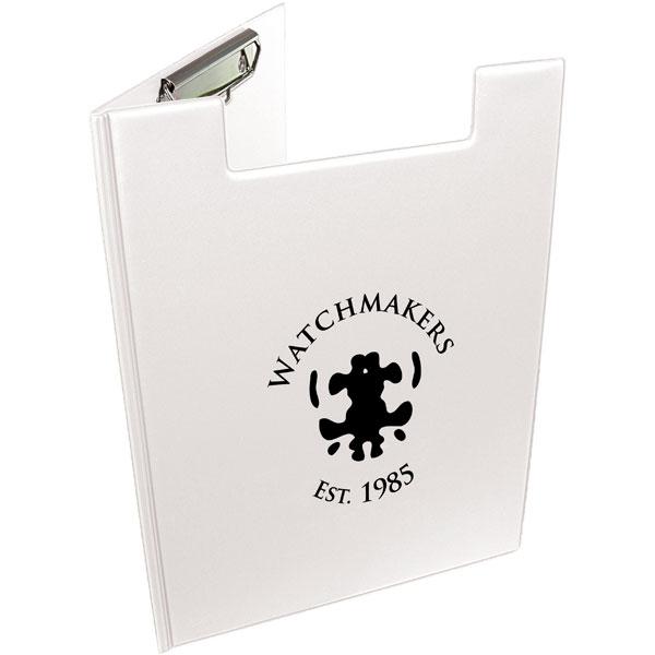 A4 Folder Clipboard - White