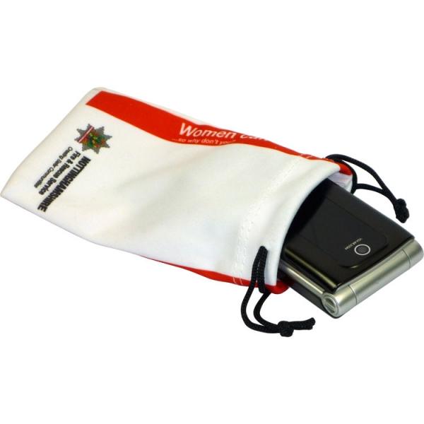 Microfibre Phone Pouch