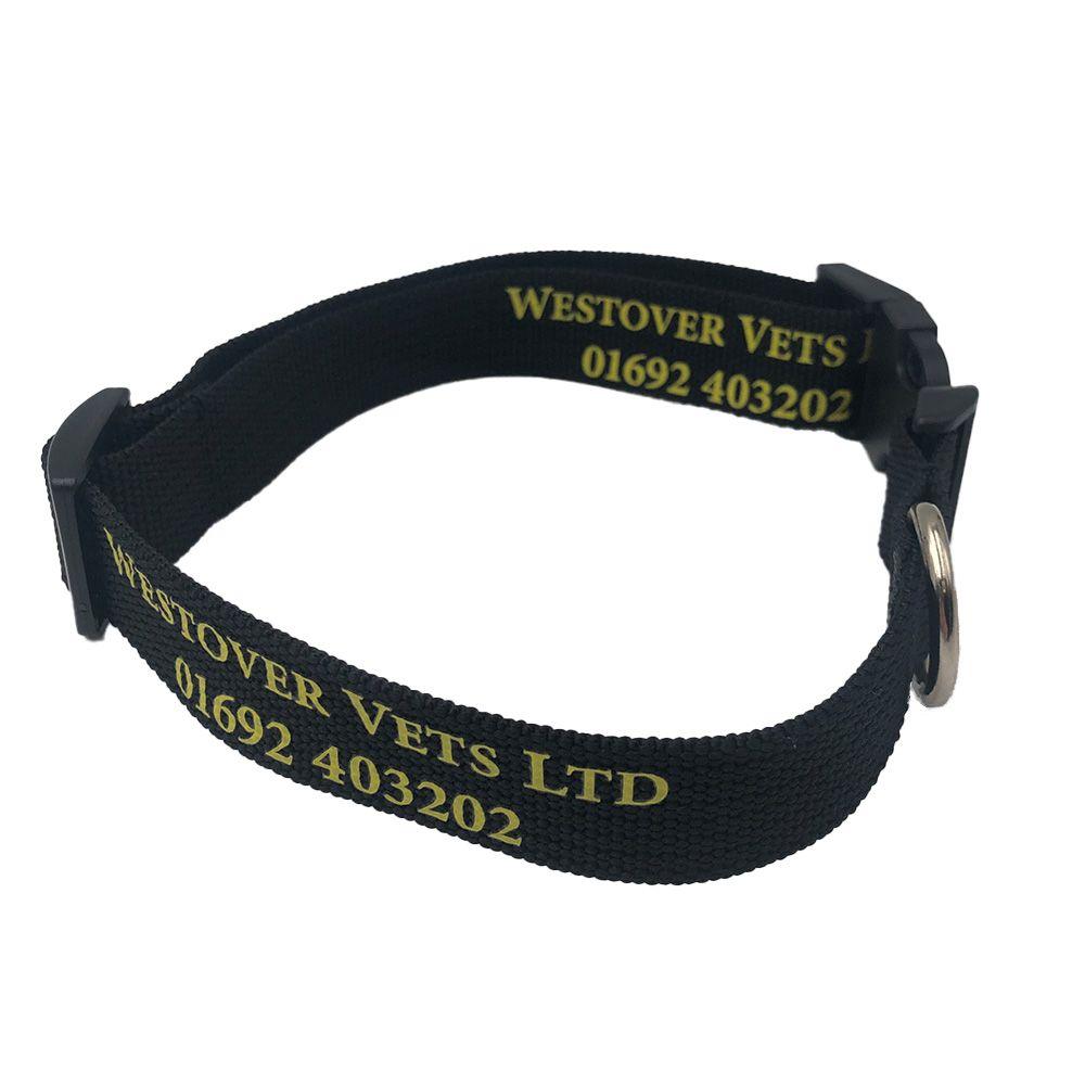 Printed Recycled PET Dog Collar