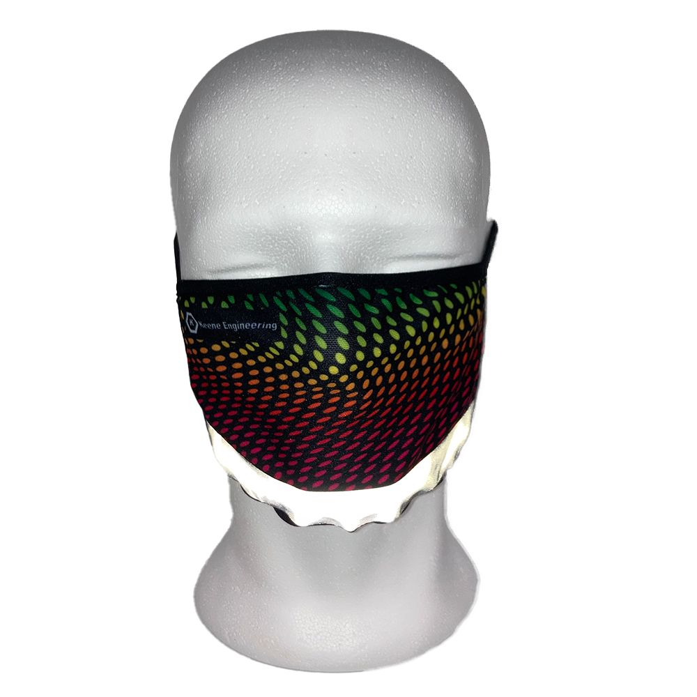Full Colour Face Mask with Reflective Strip
