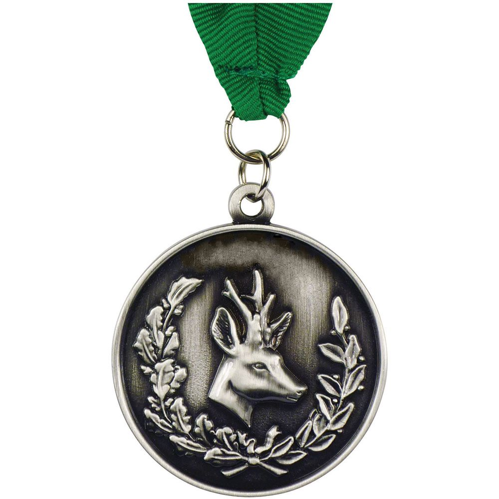 50mm Alloy Injection and Nickel Plated Medal