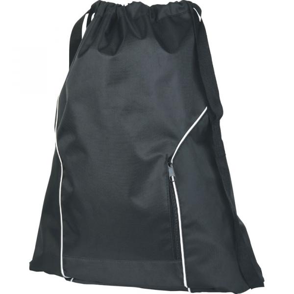 Nylon Back Pack - Black