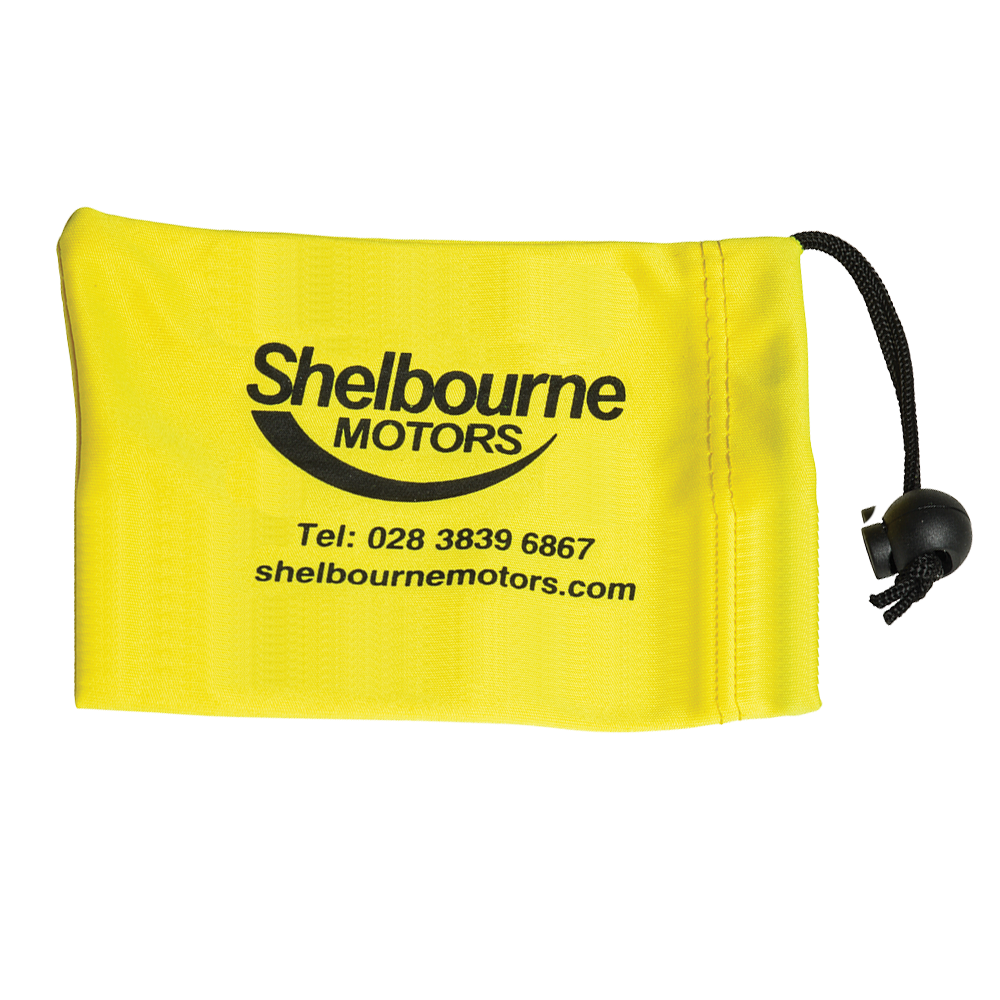 Large Locking Wheel Nut Bag (120x95mm: Microfibre)