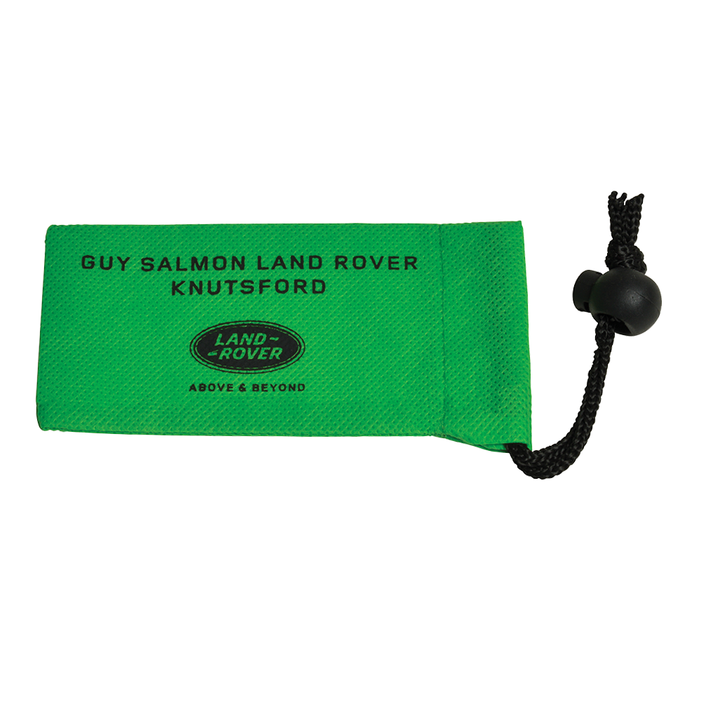 Small Locking Wheel Nut Bag  120x60mm  Non Woven