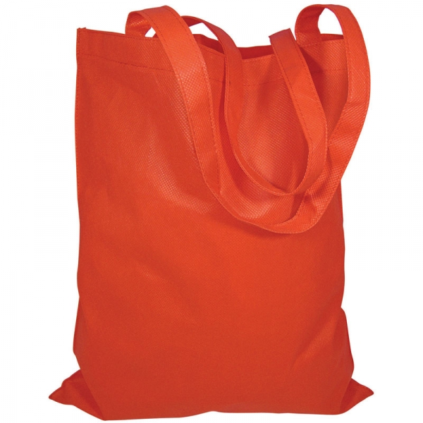 Non-Woven Bag  without Gusset  - Red