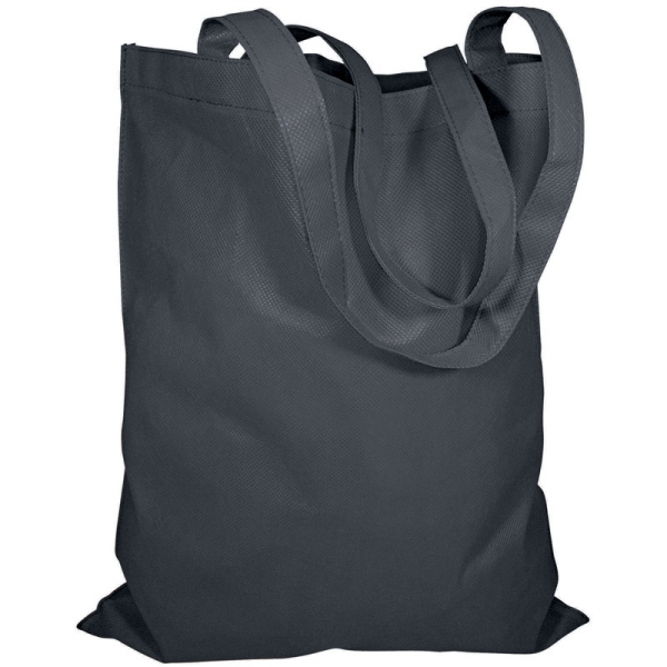 Non-Woven Bag  without Gusset  - Black