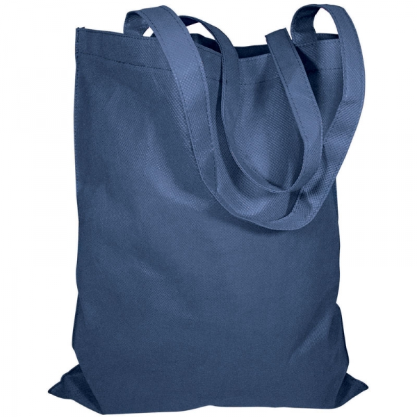 Non-Woven Bag  without Gusset  - Navy
