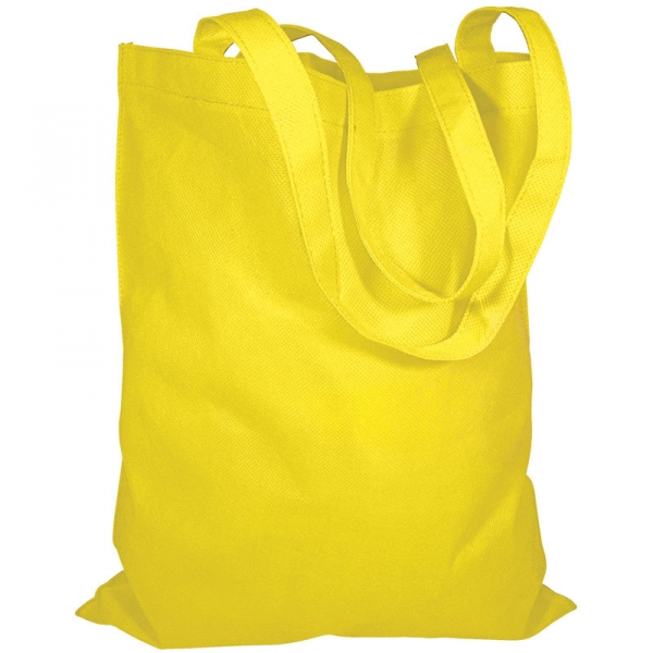 Non-Woven Bag  Without Gusset  Yellow