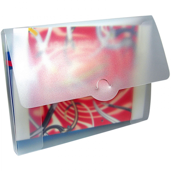 Polypropylene Conference Box - Frosted Clear