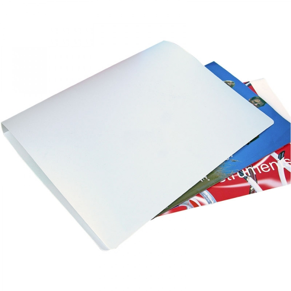 Polypropylene Ring Binder - Frosted White