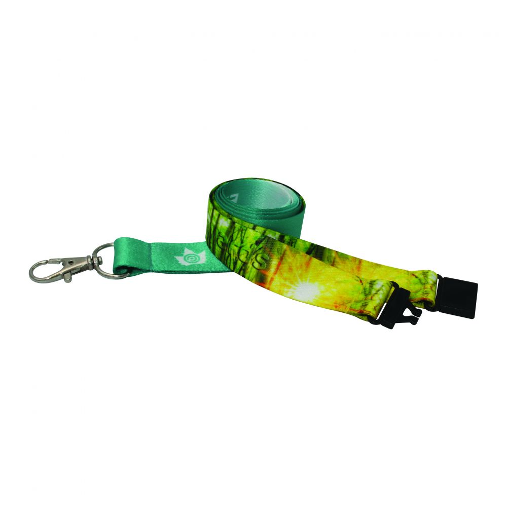 10mm Recycled PET Dye Sub Lanyard