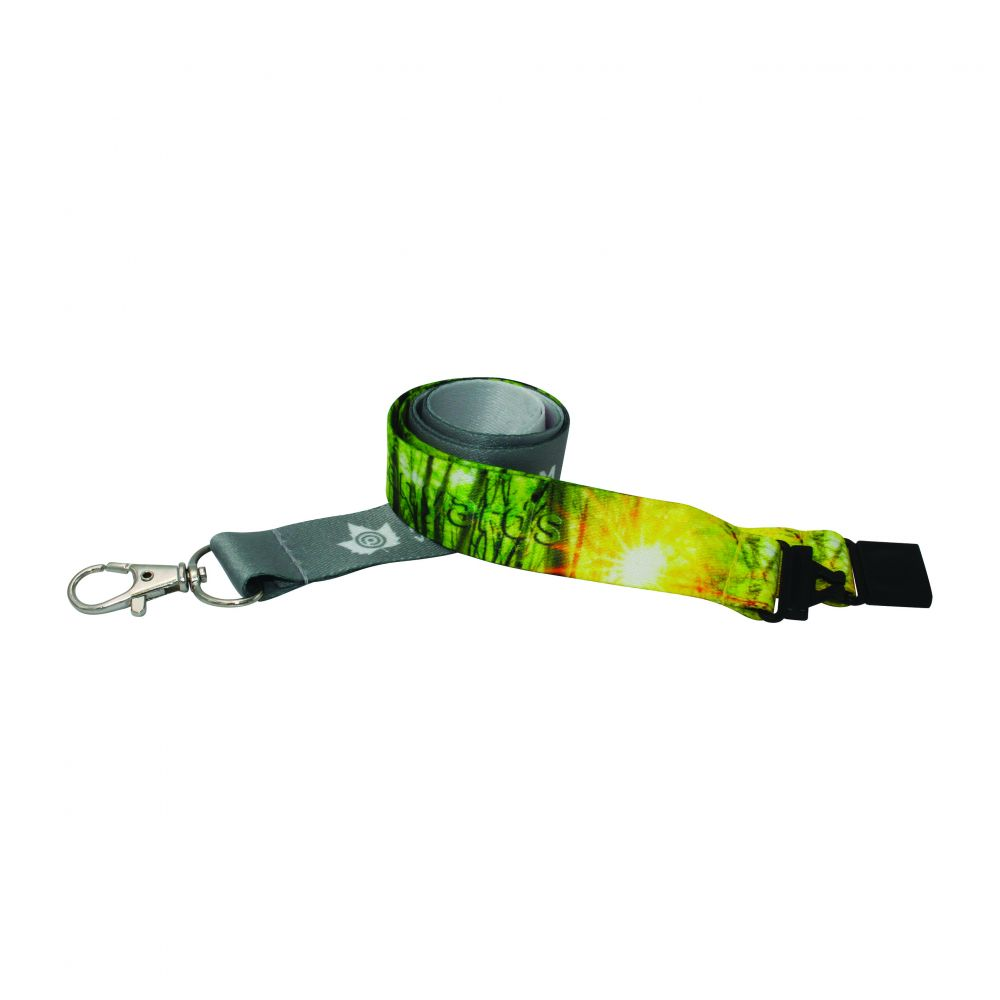 15mm Recycled PET Dye Sub Lanyard
